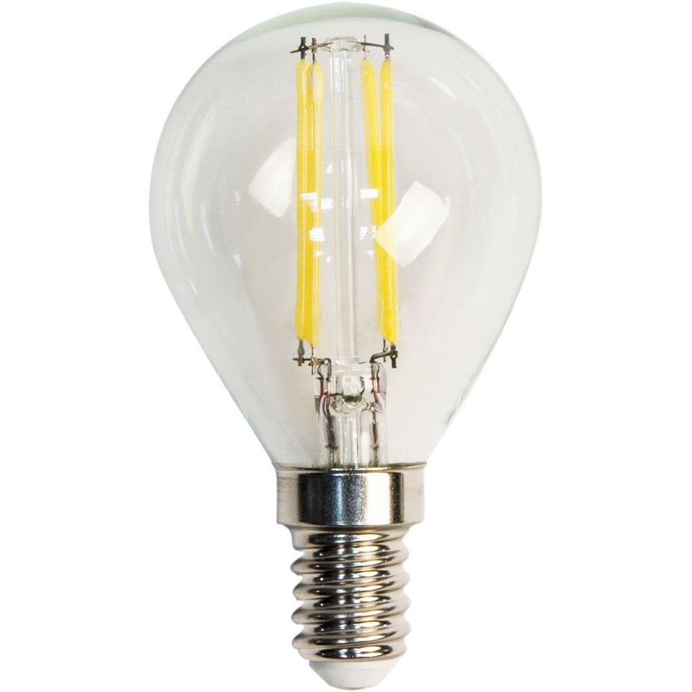 Светодиодная лампа с прозрачной колбой